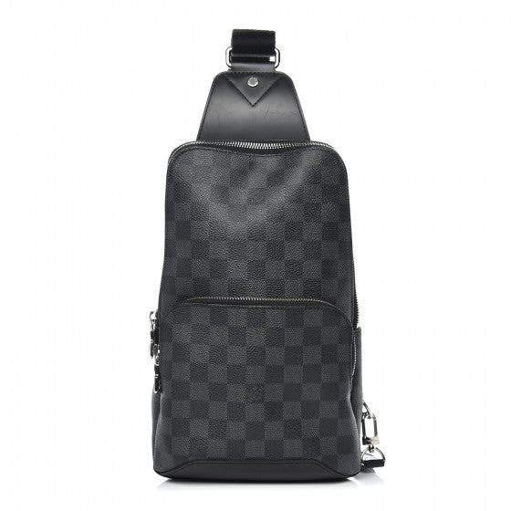 Louis Vuitton Damier Graphite Avenue Sling Backpack