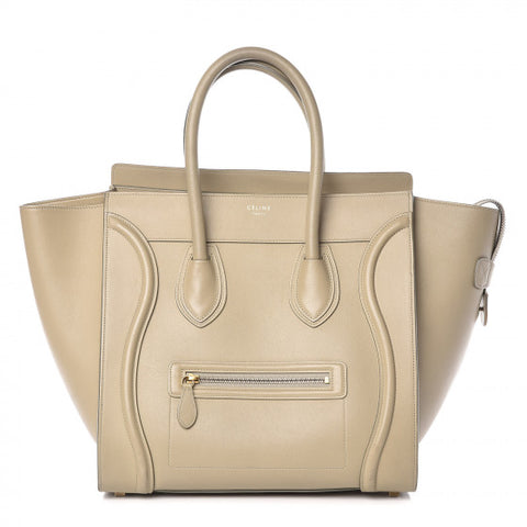 Celine Smooth Calfskin Mini  Luggage handbag
