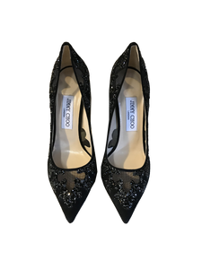 Jimmy Choo Embroidered Heels Karmel 120 SRK