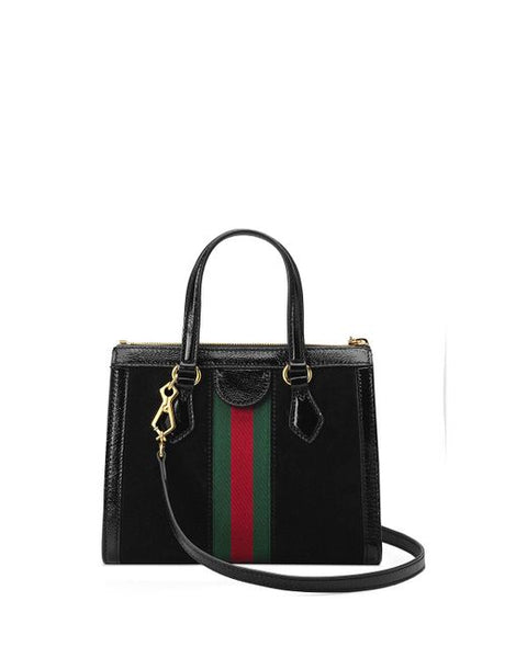 Gucci Black Ophidia Small Tote Bag