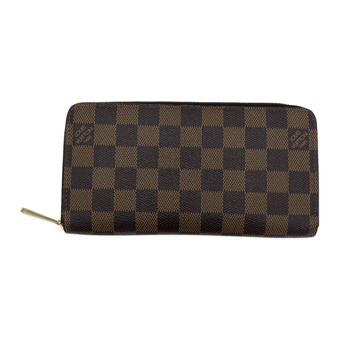 Louis Vuitton Damier Ebene Zippy Wallet