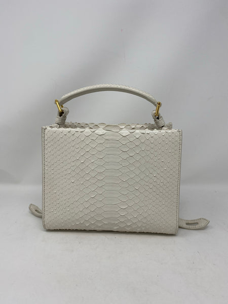 Tom Ford T Twist Mini Top Handle Snakeskin