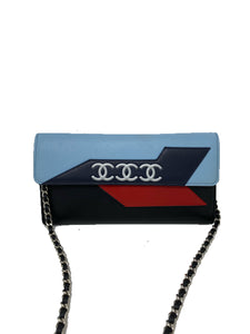 Chanel Airlines Lambskin Wallet On Chain