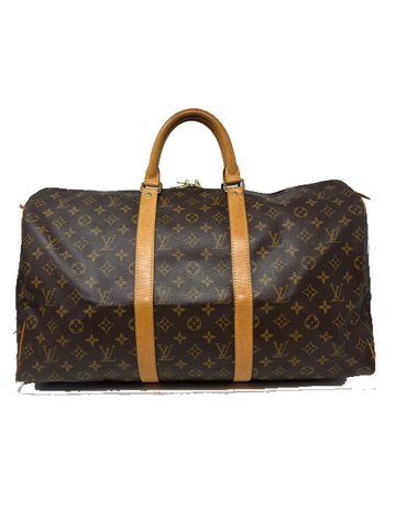 Louis Vuitton Keepall 50 Monogram Canvas handbag