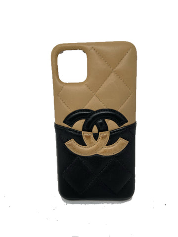 Chanel iPhone 11 Pro Max Logo Case