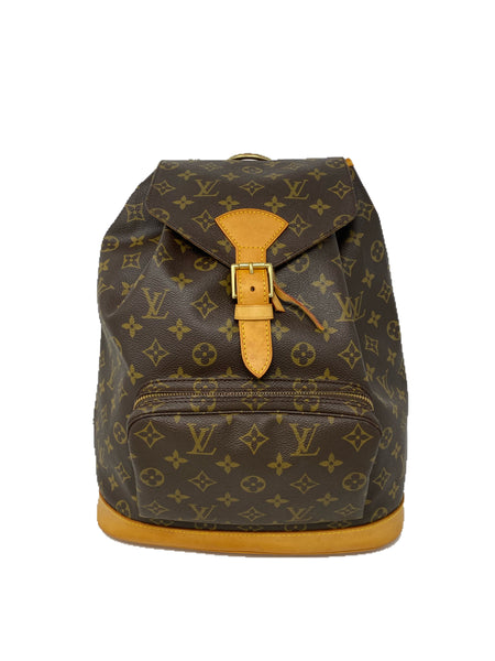 Louis Vuitton Monogram Montsouris GM Vintage Backpack