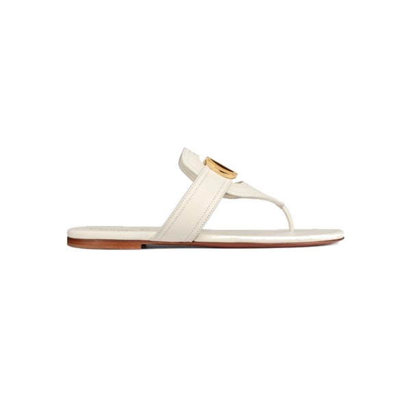 Dior 30 Montaigne Flat Thong Sandal Size 38