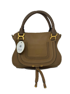 Chloe Medium Marcie Satchel Nut