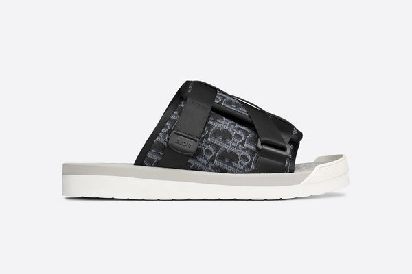 Dior Alpha Sandal  Black and Grey 40