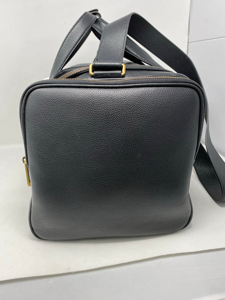 Gucci Retro Logo Duffle Black Bag