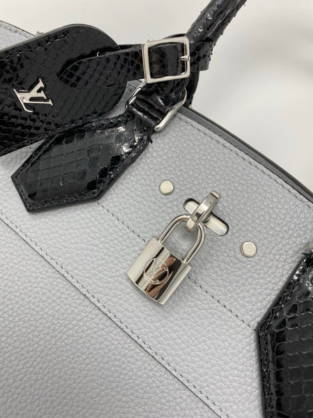 Louis Vuitton City Steamer EW handbag black/grey