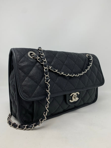Caviar French Riviera Flap Black