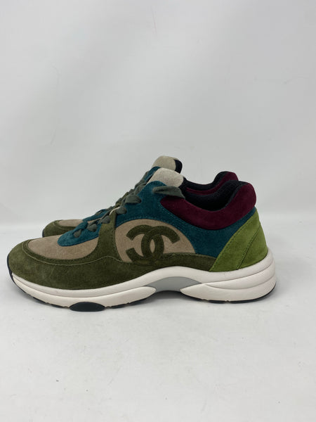 Chanel multicolor Sneakers size 38