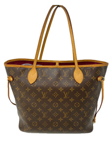 Louis Vuitton Monogram Canvas Neverfull MM Tote Bag