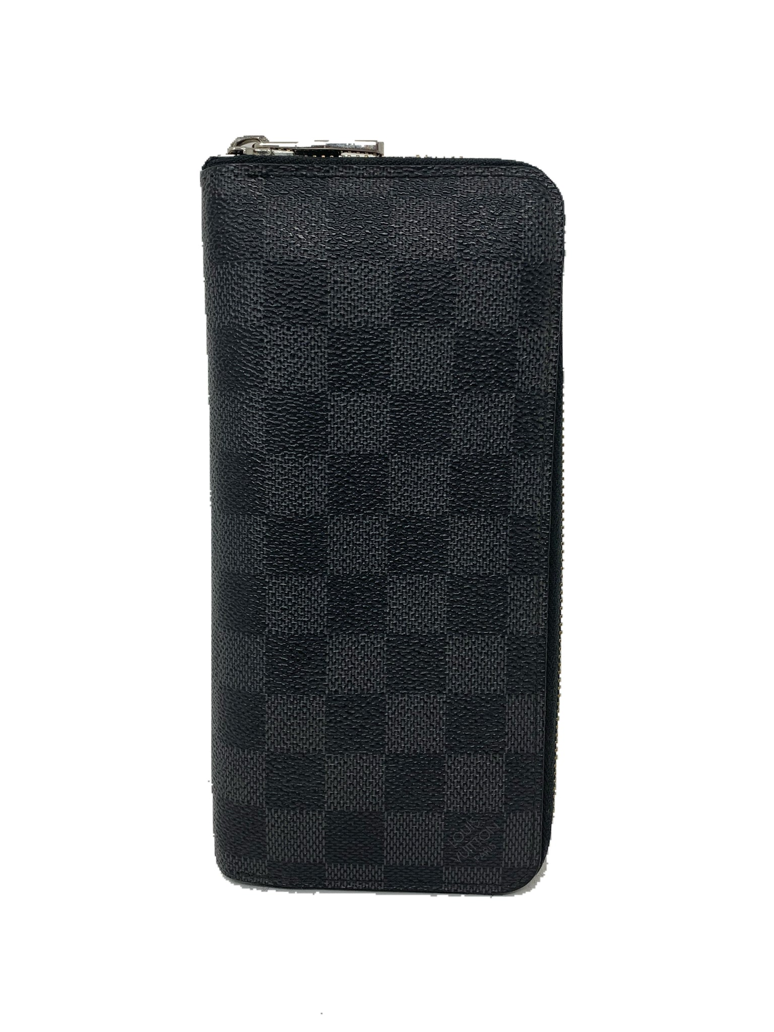 Louis Vuitton Zippy Wallet Vertical Damier Graphite