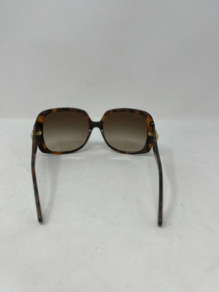 Versace limited edition tortoise oversized sunglasses 944/13