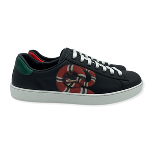 Gucci Mens Ace Kingsnake print Sneakers size 6G/ 7.5US