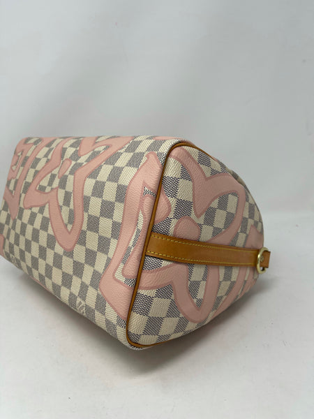 Louis Vuitton Tahitienne Speedy 30 Bandoliere Limited Edition