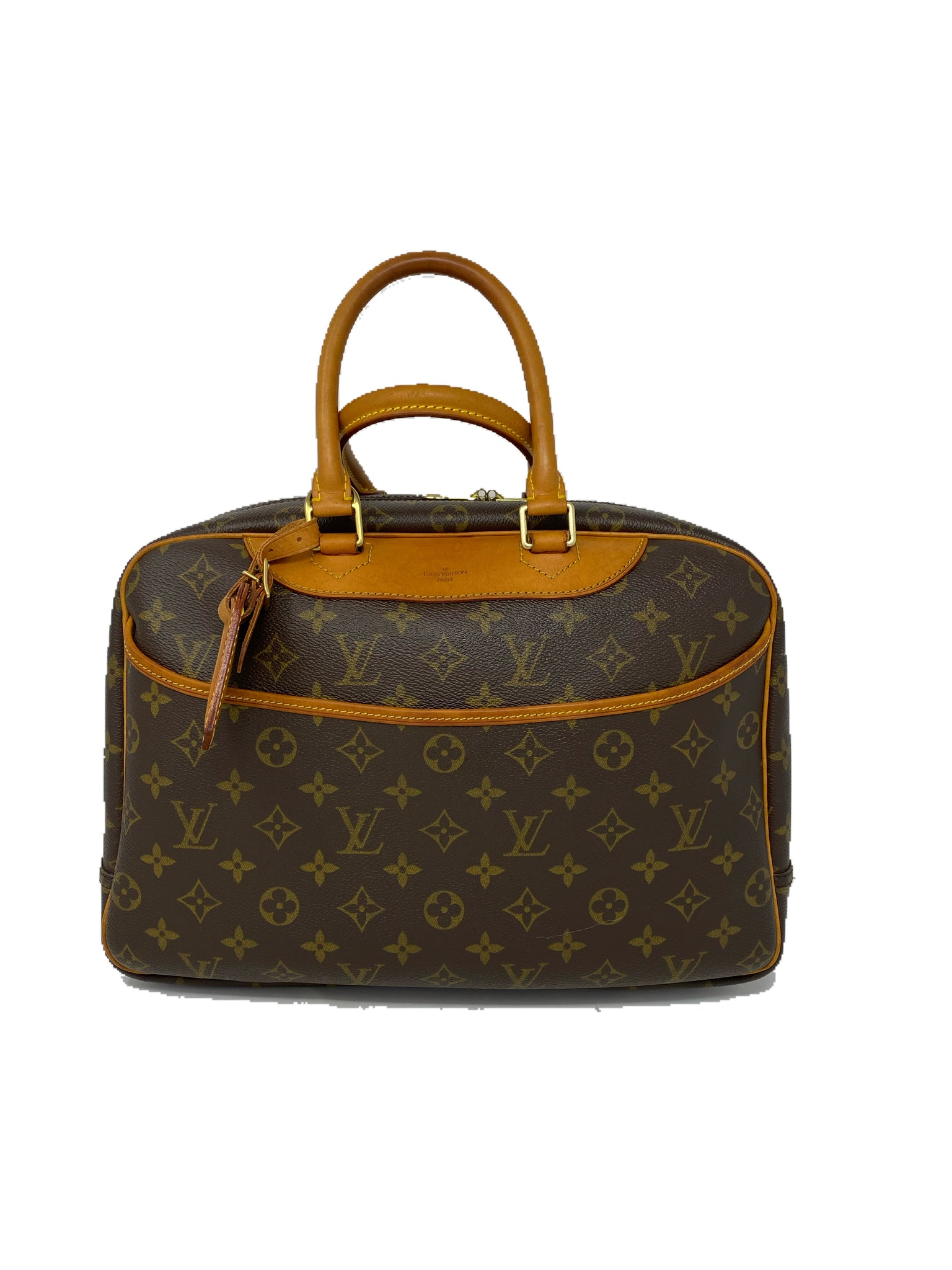 Louis Vuitton Deauville Monogram Canvas Handbag