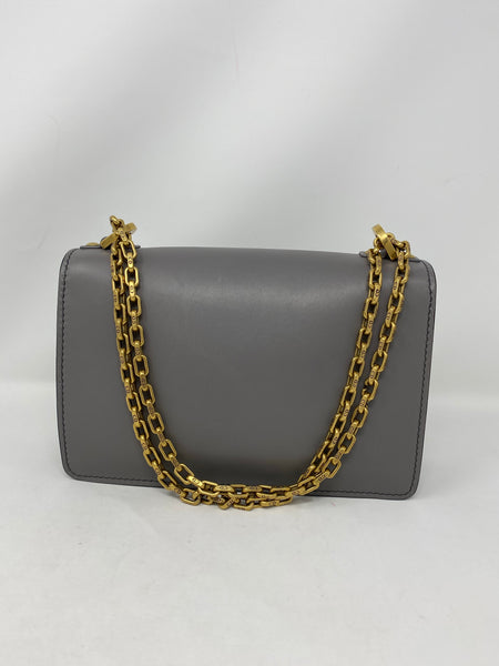 Dior J'adior Medium Flap Bag Grey
