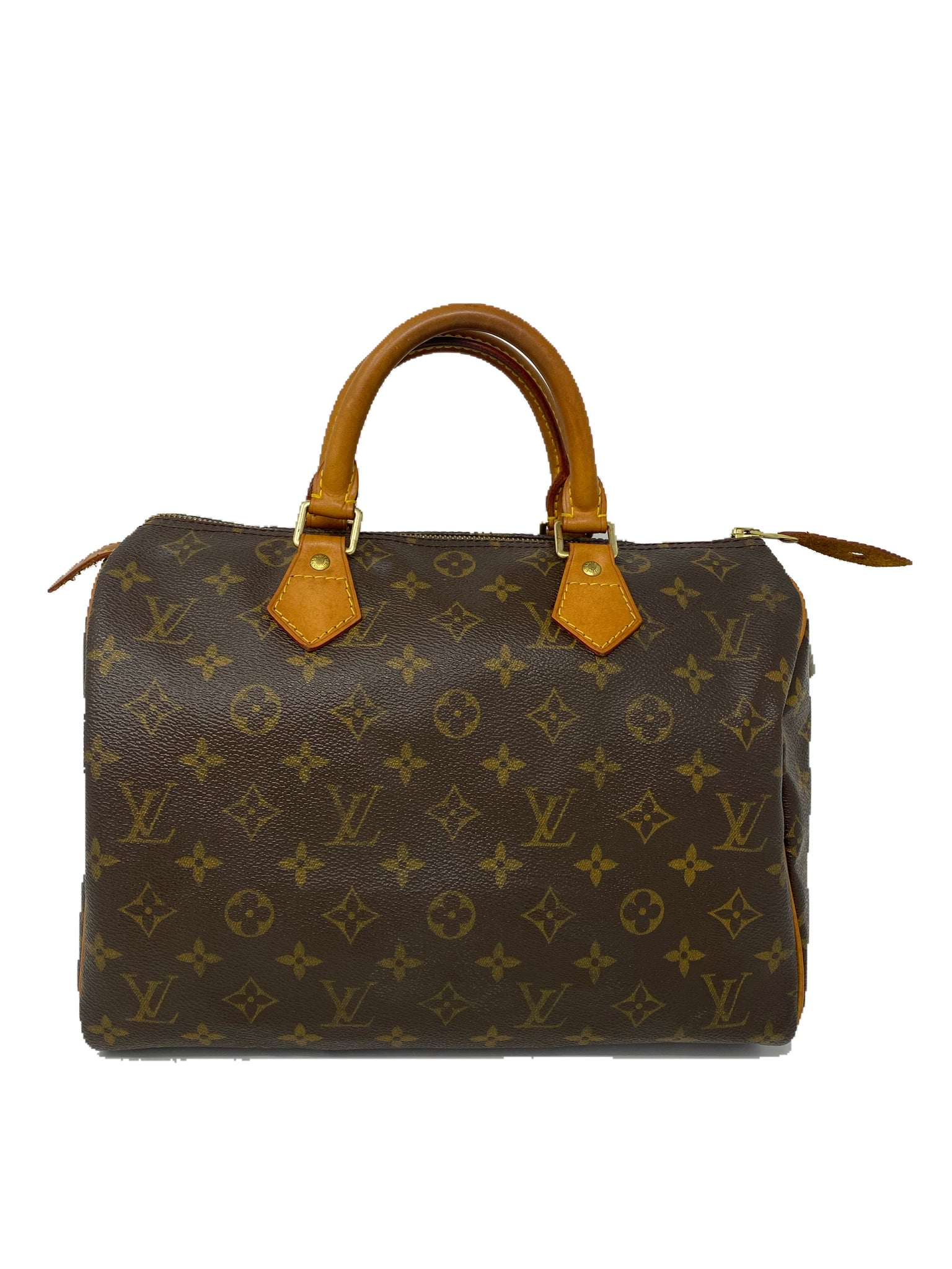 Louis Vuitton Speedy 30 Monogram Canvas Handbag
