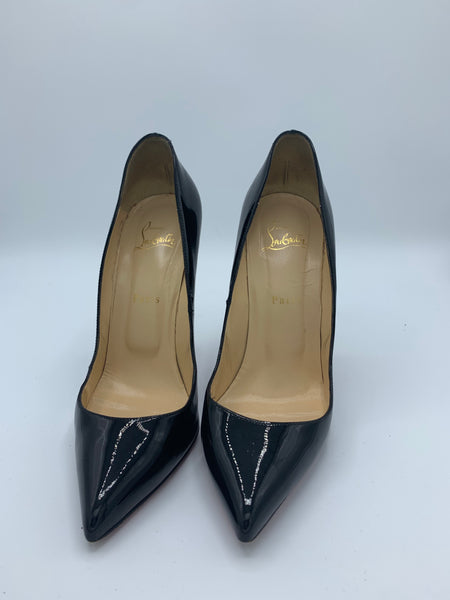 christian louboutin So Kate in patent black size 40 EU