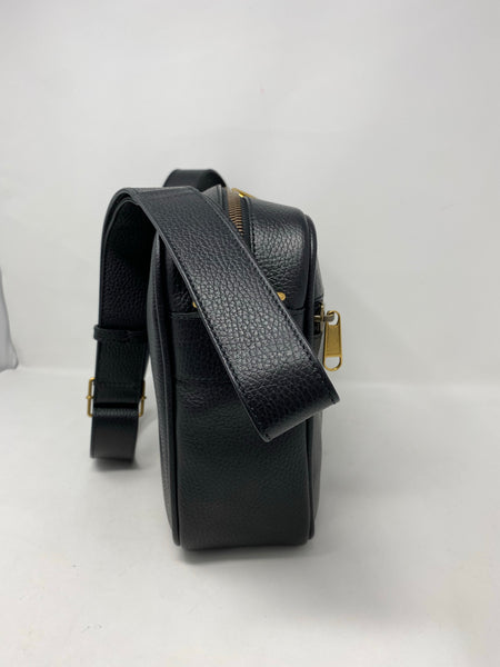 Gucci Retro Logo Leather shoulder bag