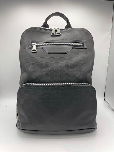 Louis Vuitton Damier Infini Leather Onyx  Avenue Backpack