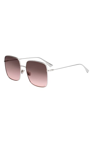Dior Stellaire 59mm sunglasses silver/ pink gradient