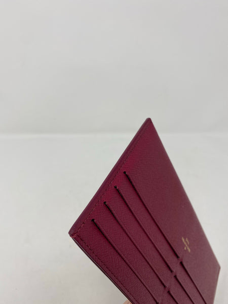 Louis Vuitton Calfskin Felicie Card Holder Insert Fuchsia