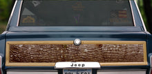 Load image into Gallery viewer, Jeep Grand Wagoneer wood panel replacement kit vinyl oak tree bark decal graphic