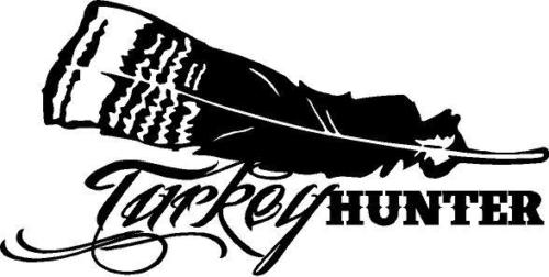 Turkey Hunter custom decal