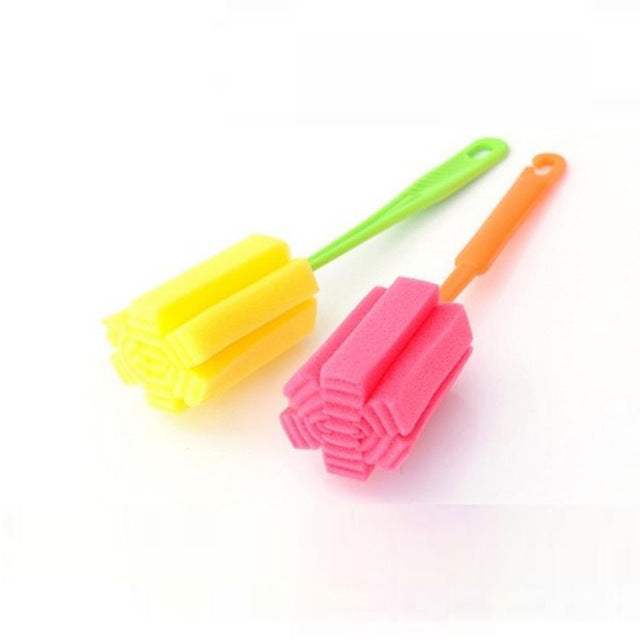 1 PC Kitchen Cleaning Tool Sponge Brush For