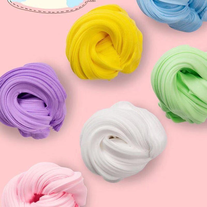 100ml Rainbow Slime Fluffy Floam Kids Modeling Clay Toys Polymer Educational Toys Safe Cotton Slime Anti Stress Plasticine Gifts|Modeling Clay| |  LootDash