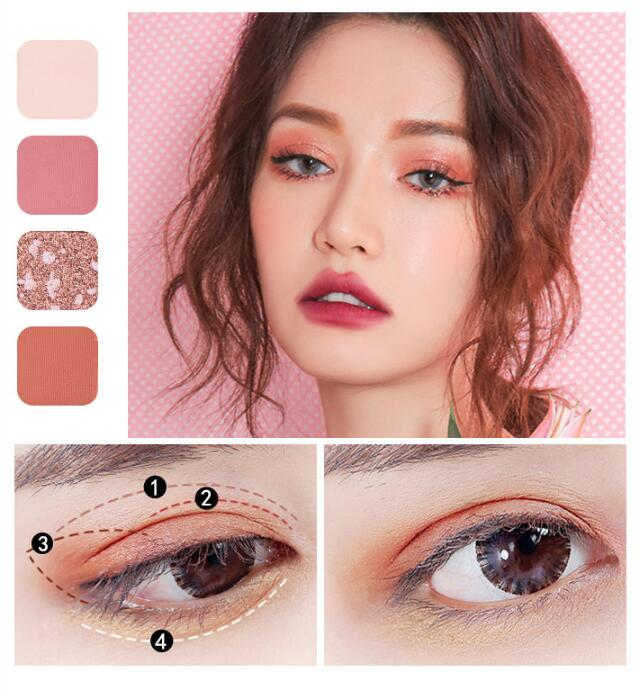 18Color Matte Glitter Pigment Cosmetics Concealer EyeShadow Pallete Long Lasting Waterproof EyeShadow Natural Eye Makeup Pallete|Eye Shadow| |  LootDash
