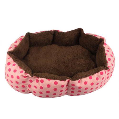 Soft Fleece Pet Dog Nest Bed Puppy Cat Warm bed