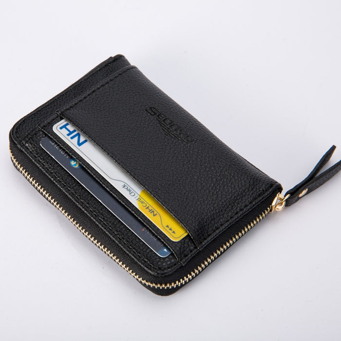 Mens Vegan Leather Wallet Coin Purse LootDash