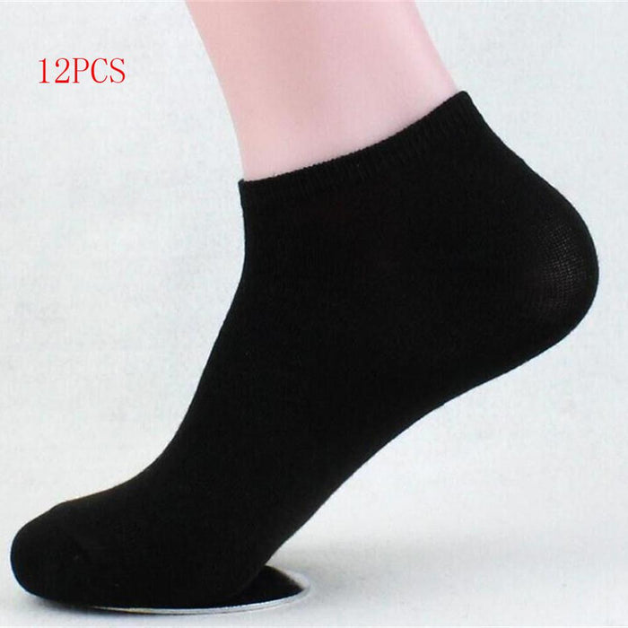 2019 New Arrival Womens Socks Athletic 12 Pack Soft Low Cut Casual Breathable No Show Cotton Socks Comfortable Calcetines Mujer