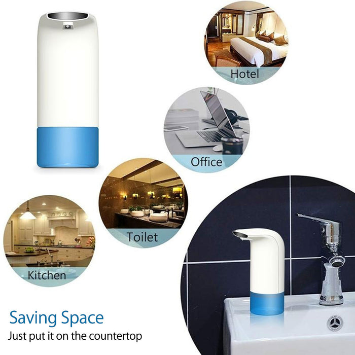 350ml Automatic Foam Soap Dispenser Smart Sensor Liquid Soap Dispenser LootDash
