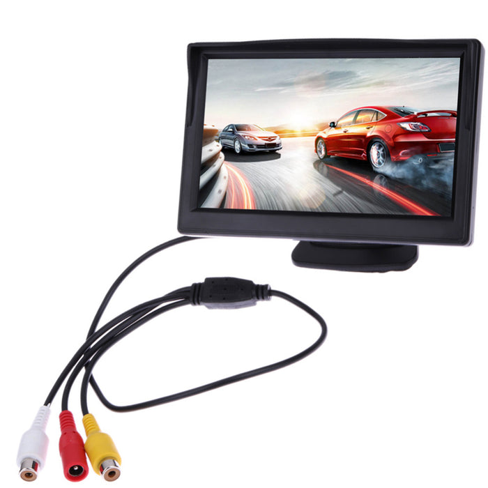 4.3in TFT LCD Waterproof Car Rear View Monitor Display LootDash