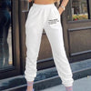 Casual Cargo Pants For Women High Waist Elastic Ladies Trousers Cotton