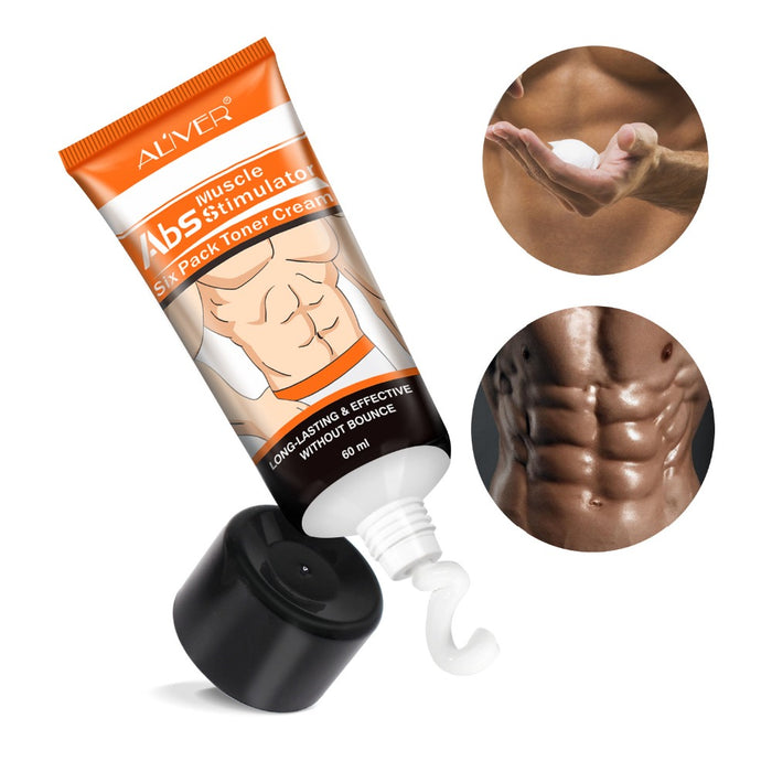 Abdominal Muscle Cream Hot Cream Anti Cellulite Slimming Creams Belly Muscle Tightening Cream Fat Burner Weight Loss Treatment|Slimming Product