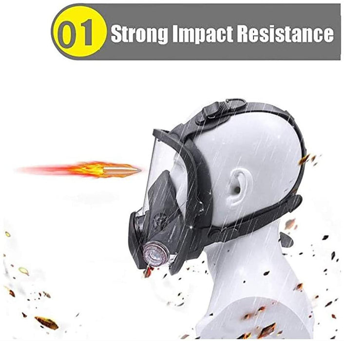 Anti Fog Anti Dust Respirator Full Face Gas Mask Protection Industrial Gas Masks with Activated Carbon Filters Widely Used