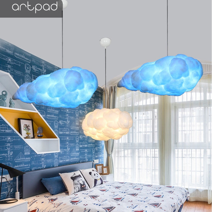 Creative Cloud Led Color Changing Home Light Cloud Light