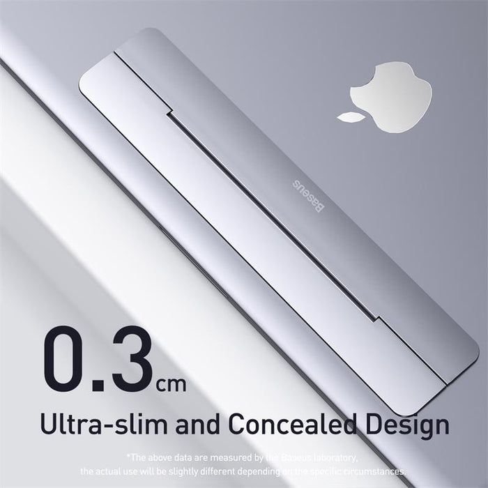 Portable Laptop Stand Foldable Aluminum Desk Table Notebook Base Stand for MacBook Air, Pro Mac, PC Computer