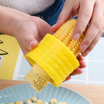 Corn Shaver/ Peeler/ Stripper/ Cutter Protecting Hand Cob Remover- LootDash