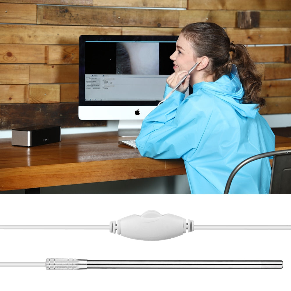 Ear Cleaning Endoscope 3 in1 USB HD