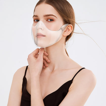 Plastic Visor Shield Facial Covering Mask