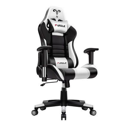Vegan Gaming Computer Chair Office Chair Lumbar Support LootDash