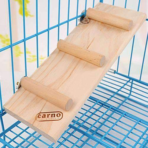Pet Wood Toys Hamster Slide Ladder Stairs Toys for